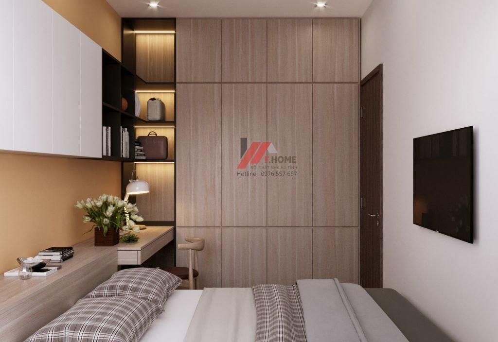 thiết kế phòng ngủ bé hà tĩnh