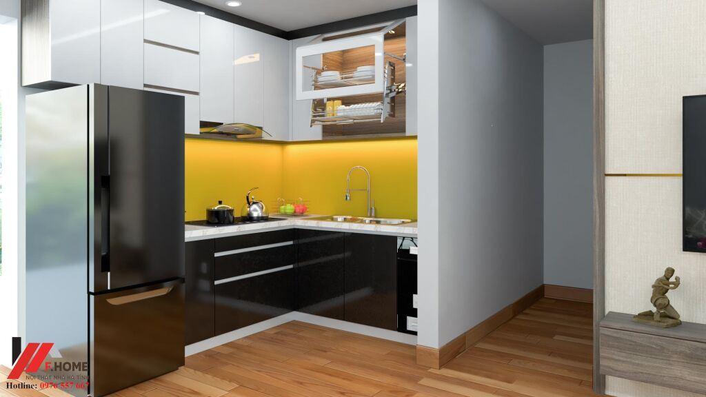 Giá tủ bếp Acrylic Hà Tĩnh có đắt không